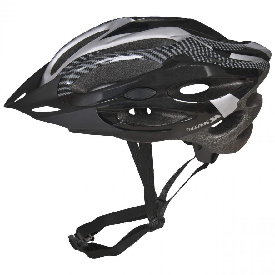 Trespass Crankster bicycle helmet in black
