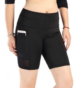Neonysweets Womens Active Gym Workout Shorts Cycling shorts