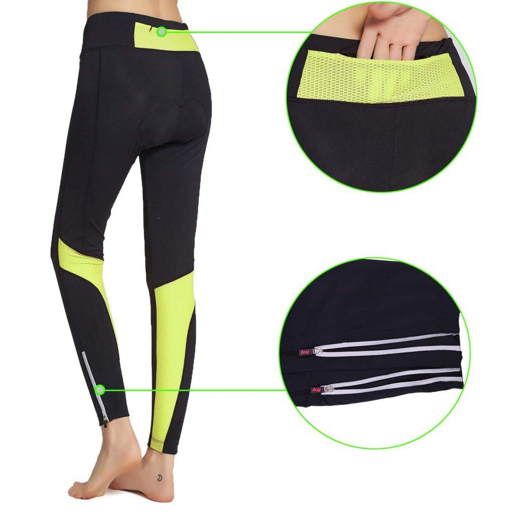 BEROY Cycling Tights Women Long Cycling Pants